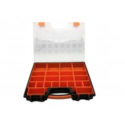 Details zu  Sortimentskasten 22 Fächer Variabel herrausnehmbare Boxen Sicher 41x31x6 cm