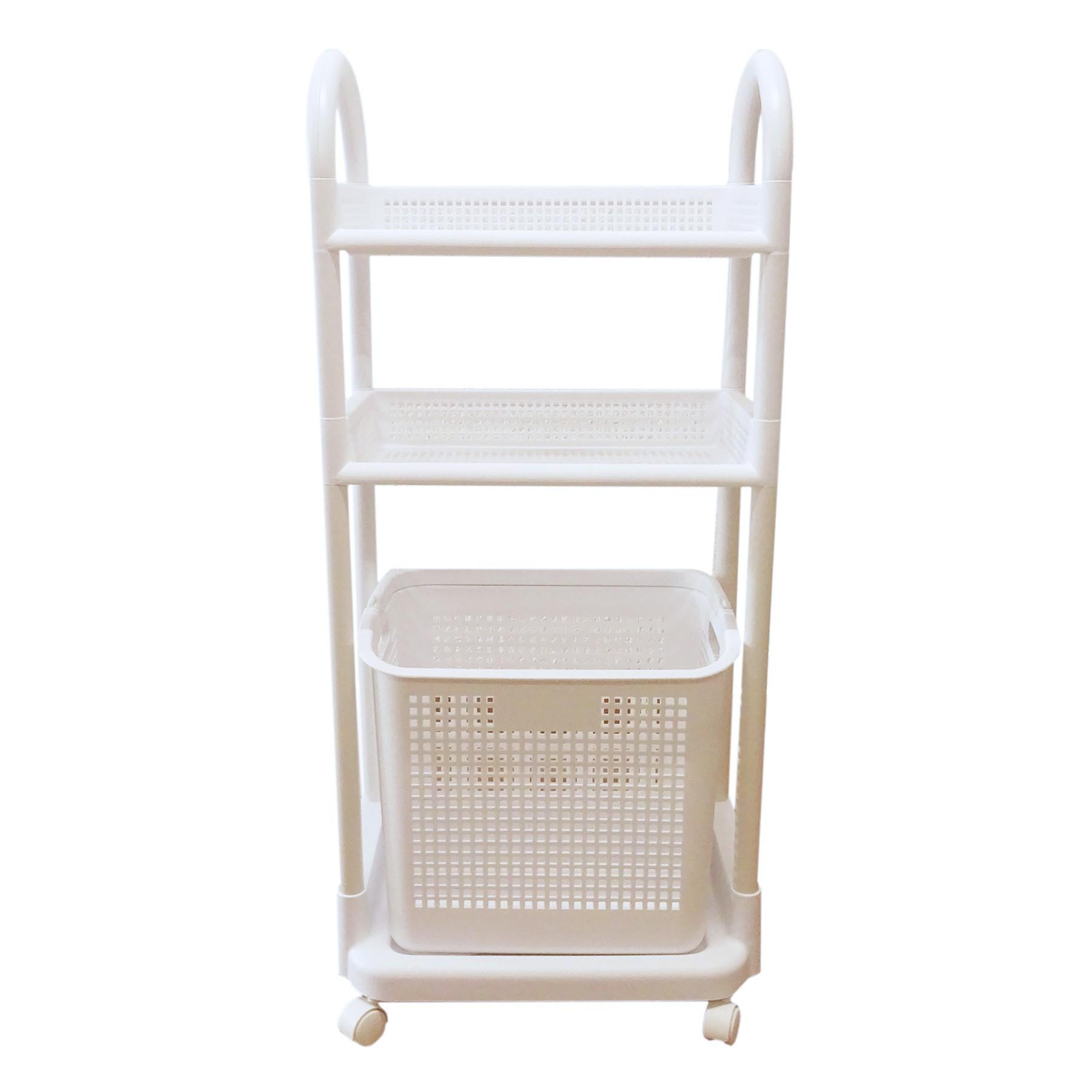 Aufbewahrungsregal 805 Küche Badezimmer 3 Etagen Korb Wäsche ...