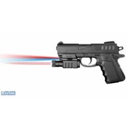 Softair Pistole - aus Plastik - Schwarz