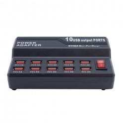 USB Schnellladegerät mit 10 USB Ports - USB-CH10