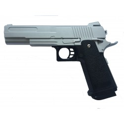 Softair Pistole RV19 Silver aus Metall