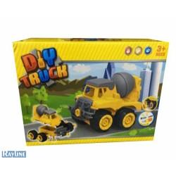 2504E  Spielzeug Baustellenfahrzeug - Nutzfahrzeug