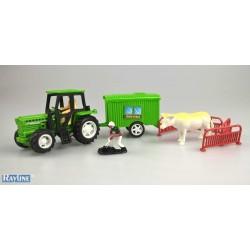 NF0447  Spielzeug Set Bauernhof - Nutzfahrzeug