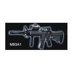 Rayline M83A1 Plastik/Metall Softair Maßstab 1:1 6mm Kaliber, Farbe: Schwarz