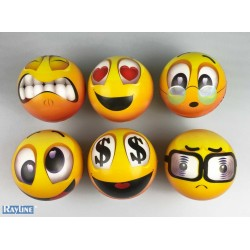 Ball Emoticon - Klein- PU -BallPU10CM