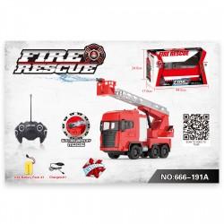 666-191A Feuerwehr RC Auto Fire Truck Fernbedienung