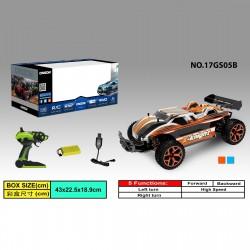 RC Auto Car 17GS05 High Speed Car Fernbedienung 2.4GHz 4WD 1:18