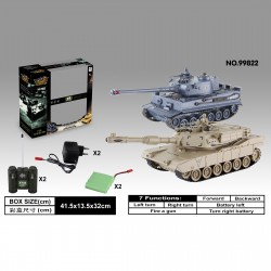 Rayline RC Auto Panzer Tank 99822, mit Fernbedienung 2.4Ghz 1:28