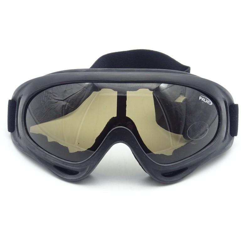 Rayline Schutzbrille X400 Brille Goggles Softair Paintball Outdoor Getont Airsoft Jagdbrille Motorrad Fahrrad