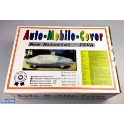 Auto Abdeckung in Grau/Maße: 480x175x120 cm/Schutz vor Wasser, Schnee, Schmutz, Sonnenstrahlen