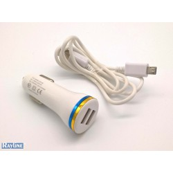 PKW USB Charger 2 Ports + Micro-USB-Kabel C28