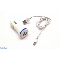 PKW USB Charger 2 Ports + Micro-USB-Kabel C22