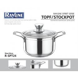 Rayline Spirit Serie Topf/Stockpot 24CM