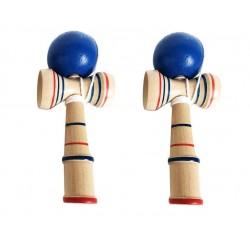 Rayline Sport Serie - 2er Set Kendama aus Holz - Japanisches Geschicklichkeitsspiel für Kinder u. Erwachsene